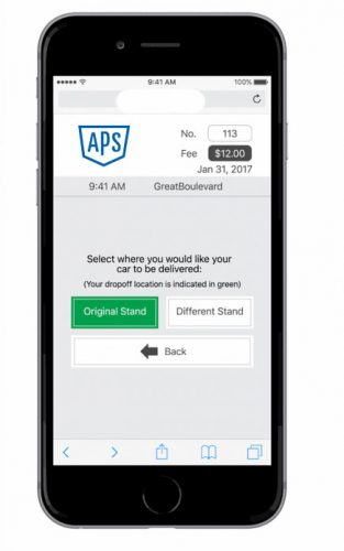 Call Down Service App Photo Example